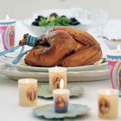 Latin American Christmas turkey