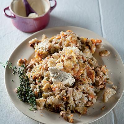 Mascarpone and butternut risotto