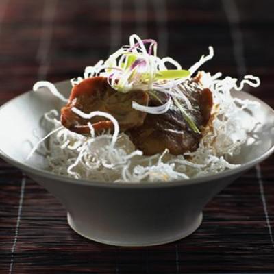 Miso glazed mushrooms