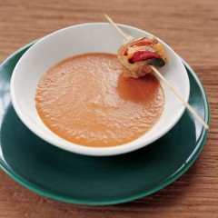 Moroccan sweet pepper soup