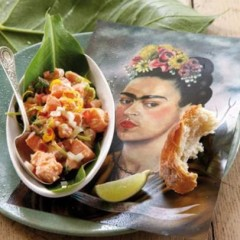 Norwegian salmon ceviche