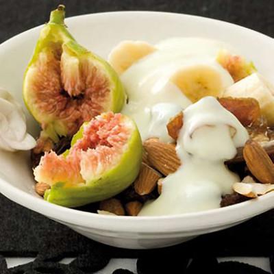 Nutty fruity breakfast