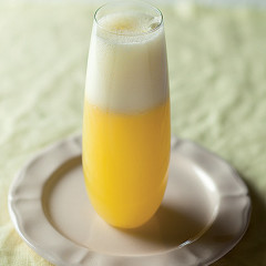 Orange ginger fizz
