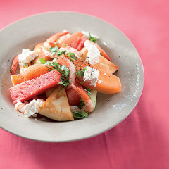 Pocket-friendly Summer melon and prawn salad