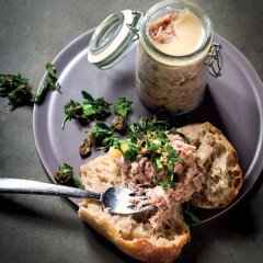 Pork and duck rillettes