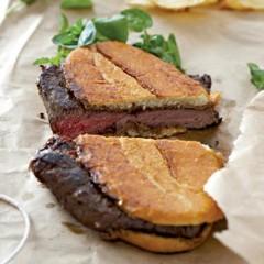 Portuguese-style steak rolls
