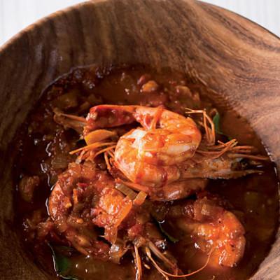 Prawn tikka curry