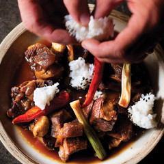 Quick-braised Chinese beef short ribs