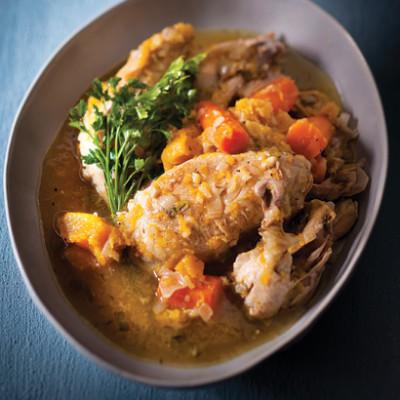 Quick chicken pot