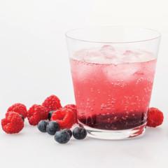 Quick raspberry cordial