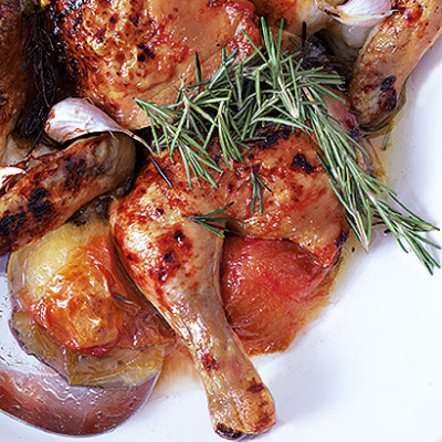 Roast chilli chicken