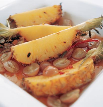 Roasted chilli pineapple with rum | Woolworths TASTE