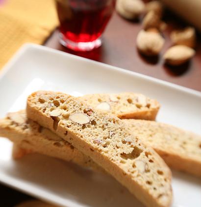 Taste Of Home Almond Chocolate Biscotti