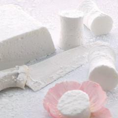 Rose-water marshmallows