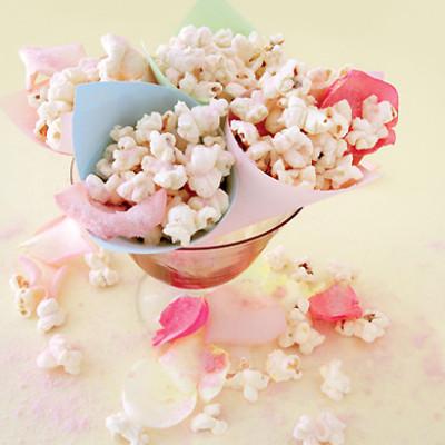 Rose-water popcorn