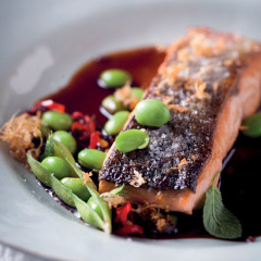 Salmon and soya