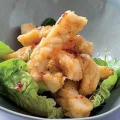 Salt-and-pepper calamari with sweet chilli sauce
