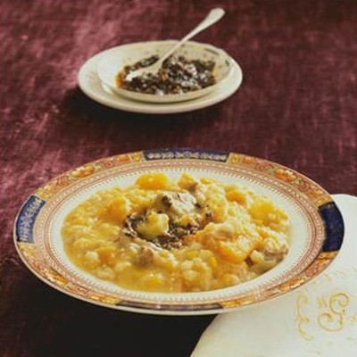 how to cook samp and beans soup