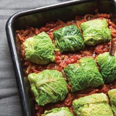Savoy cabbage rissoles