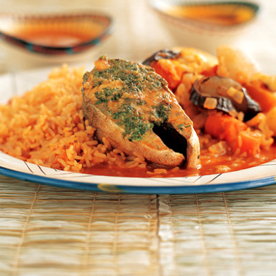Senegalese fish and rice stew