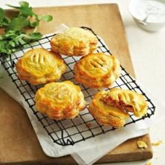 Spiced sweet potato and butternut yoghurt pies