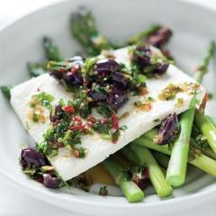 Summer asparagus salad