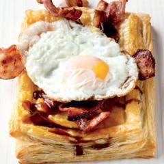Sunny-side-up breakfast-tart special