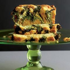 Tenderstem broccoli sandwich cake