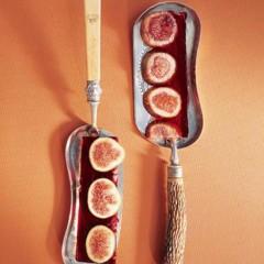 Terrine of pomegranate and fresh fig