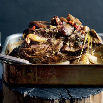 Thai pot-roasted beef neck