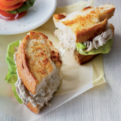 The classic chicken sandwich with home-made mayonnaise