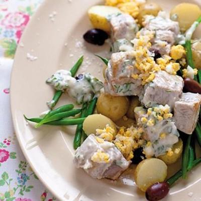 The classic tuna salad