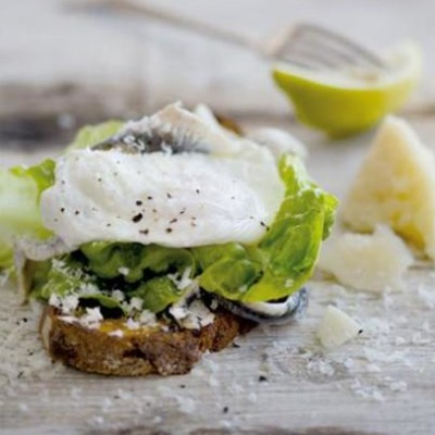 The healthy caesar sandwich