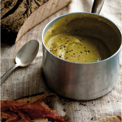 The healthy pea-and-ham soup