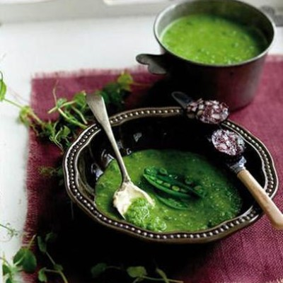 The modern pea-and-ham soup