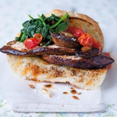 The modern smoked-paprika charred chicken sandwich