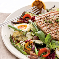 The perfect salade nicoise