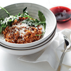 Tomato and Parmesan risotto
