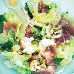 Torn salad