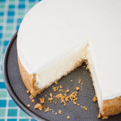 Triple-baked cheesecake by Bea Tollman