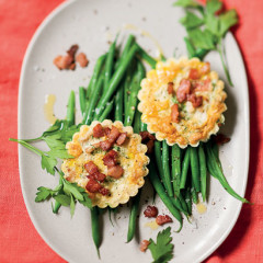 Tuna-and-bacon tartlets