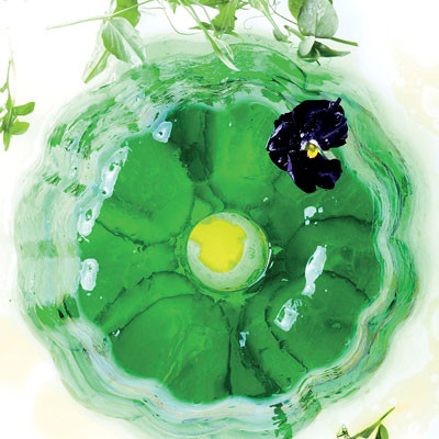Cucumber-and-lime jelly
