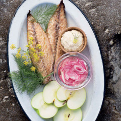 Mariana's smoked mackerel salad