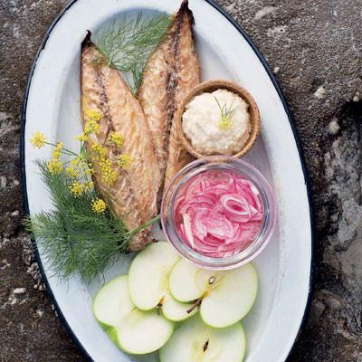 Mariana's smoked mackerel salad