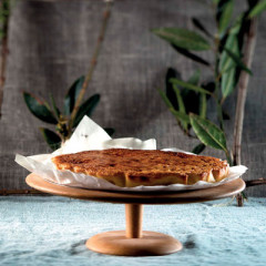 Almond-and-coconut flan