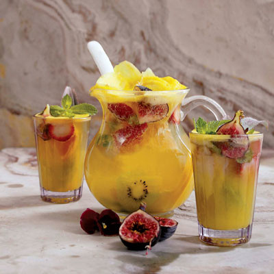 Pineapple-and-ginger zing