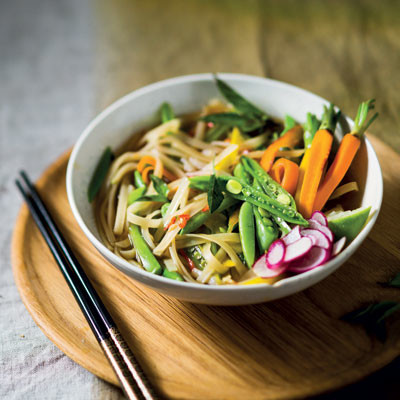 Asian-style noodle broth