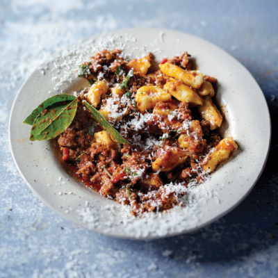 Bolognese with gnocchi