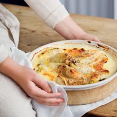 Royal Ashton cheesy baked endives
