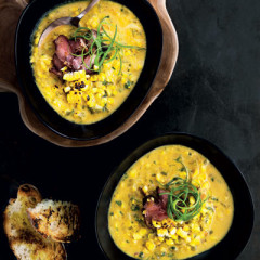 Braaied corn soup